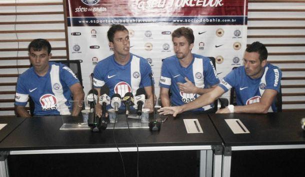Jogadores do Bahia dividem responsabilidade com Marquinhos