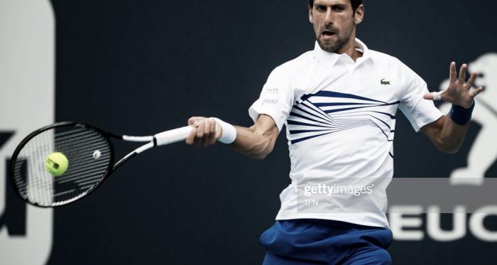 Novak Djokovic avanzó a la cuarta ronda en Miami. Foto: Getty Images.