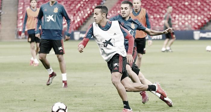 Thiago Alcántara, a sus 28 años, forma parte de la Selección Española desde 2011 | Foto: @Thiago6