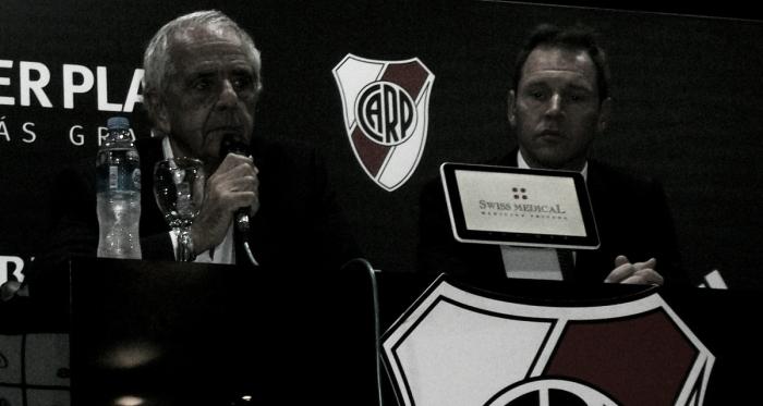 D'Onofrio y Brito en conferencia de prensa. Foto: Vavel.