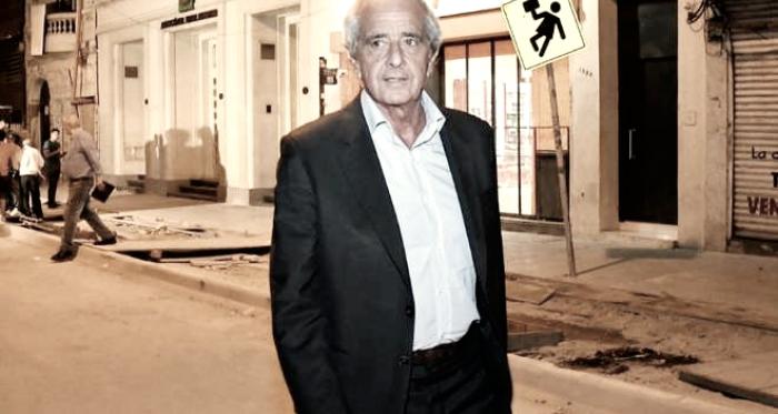 Rodolfo D'Onofrio y su descontento con la situación actual del fútbol argentino (Foto: Olé)
