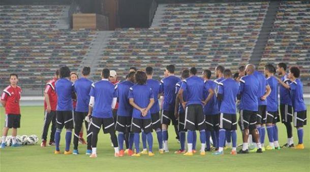 إستعدادت المنتخب الإماراتي