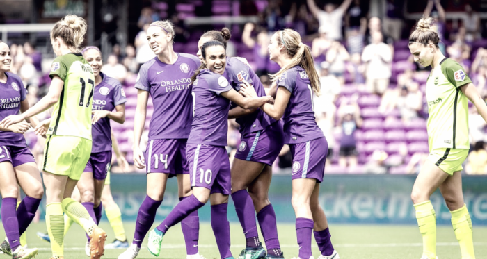 Seattle and Orlando end in a tie | Photo: Orlando Pride on Twitter