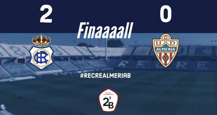 Resultado del partido | Fotografía: Real Club Recreativo De Huelva