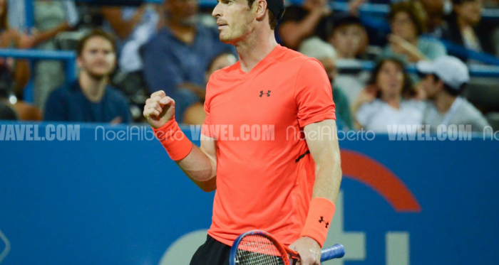 Andy Murray had another marathon but survived it to make the quarterfinals (Noel Alberto/VAVEL USA)