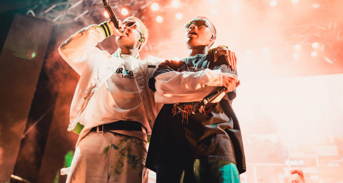 Yung Raja and Fariz Jabba / Photo: YOUTHX Weekend Festival presented by National Youth Council
