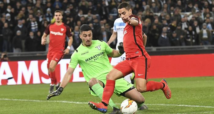 Wissam Ben Yedder fue el único que consiguió el gol en la ida | Foto: Sevilla FC<div><br></div>