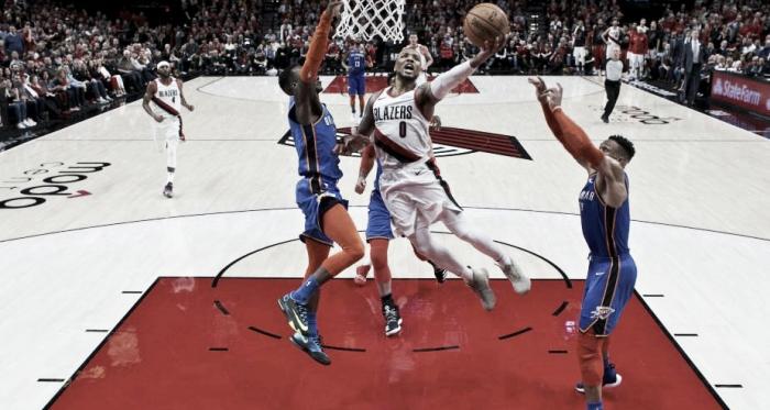 Damian Lillard estuvo imparable. / Foto: NBA