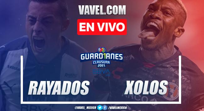 Goles y Resumen del Monterrey 1-1 Xolos en la Jornada 8 del Guard1anes 2021