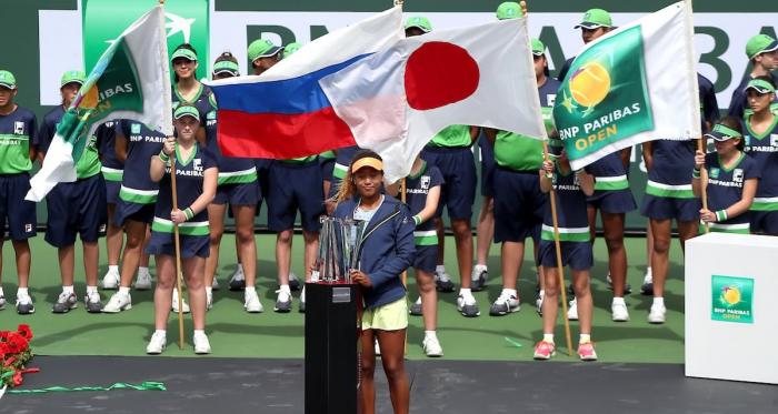 Indian Wells 2018 - Naomi Osaka conquista il titolo - BNP Paribas Open Twitter