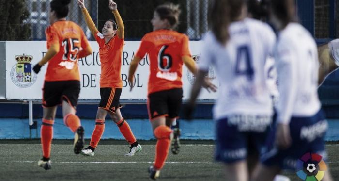 Resumen Valencia CF Femenino Zaragoza CFF (1-0) en Liga Iberdrola 2018