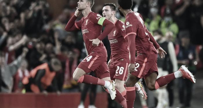 Liverpool estreia na Champions League com vitória sobre Milan em duelo intenso