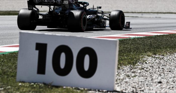 Histórico: Hamilton conquista 100ª pole da carreira no GP da Espanha