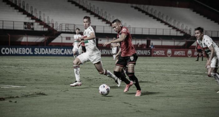 Em grande noite de Toselli, Atlético-GO não sai do empate com Palestino pela Sul-Americana