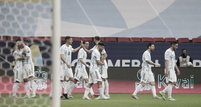 Las notas de Argentina tras vencer a Paraguay