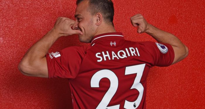 Liverpool seal Xherdan Shaqiri signing. | Photo: Liverpool FC.