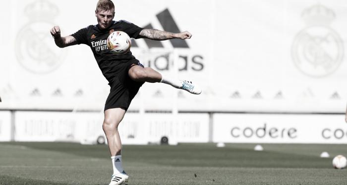 Kroos, Modric, Varane y Bale se incorporan a los entrenamientos