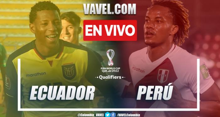 Resumen y goles de Ecuador vs Perú (1-2) en la fecha 7 por Eliminartoria a Catar 2022
