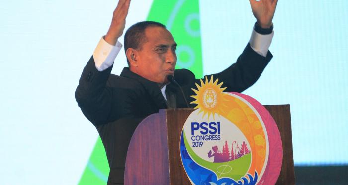 Edy Rahmayadi Mundur dari PSSI