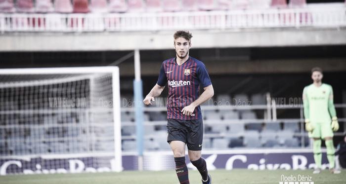 Óscar Mingueza ante el Club Deportivo Ebro   Foto de Noelia Déniz, VAVEL