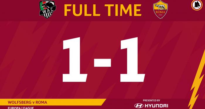 Europa League- Pareggio della Roma contro il Wolfsberger 1-1