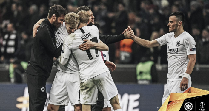Reprodução/Twitter/Eintracht Frankfurt