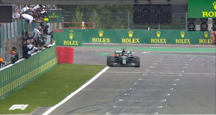Gp Belgio: Continua la serie Hamilton e 88 vittorie per il pilota inglese