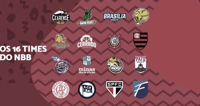 Com a entrada doCerrado Basquete, NBB mantém 16 times na temporada