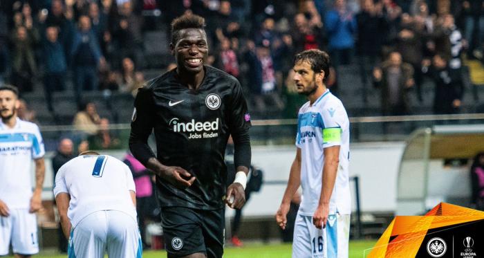 Europa League- Lazio, che imbarcata in Germania! L'Eintracht domina e cala il poker (4-1)