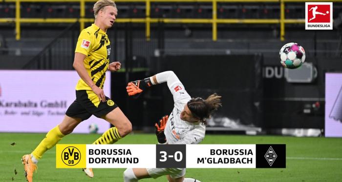 Il Dortmund risponde presente al Bayern