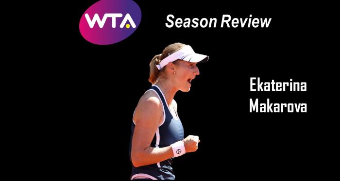 Ekaterina Makarova endured through a tough stretch of results this year | Edit: Don Han