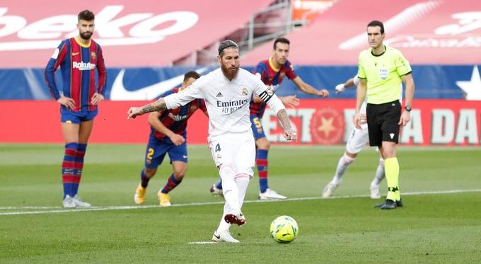 Il Real Madrid fa suo il Clasico: battuto il Barcellona 3-1
