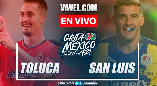 Toluca vs Atlético San Luis EN VIVO: ¿cómo ver transmisión TV online en Liga MX?