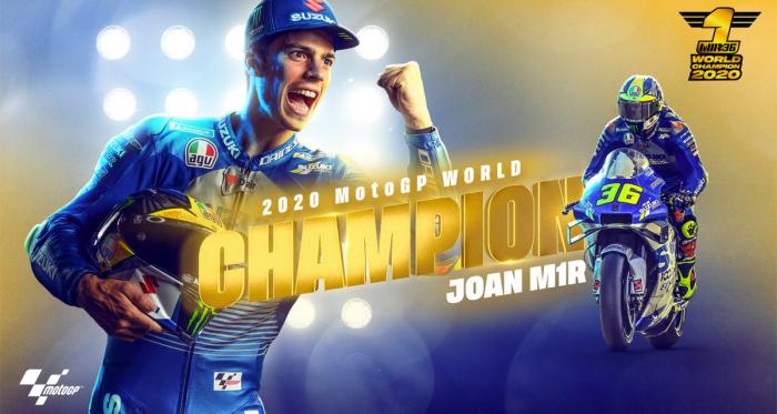 Gp Valencia: L'asfalto valenciano è Morbido, ma Mir è campione del mondo