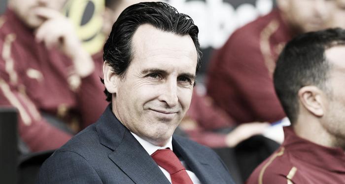 Unai Emery en el banquillo | Fotografía: Arsenal