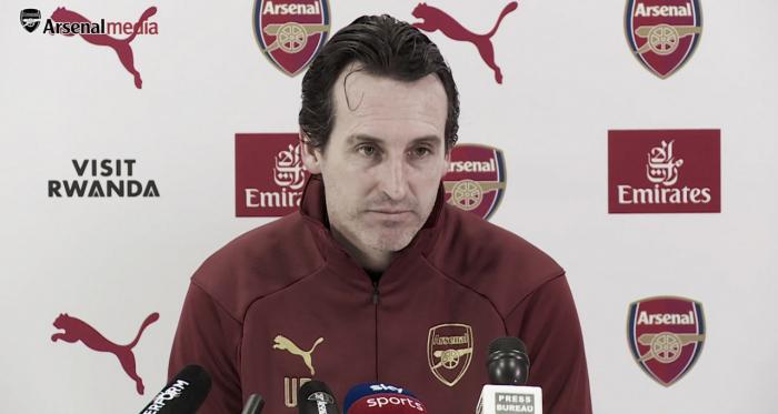 """Emery: """"Estamos ansiosos por jugar y por demostrar que podemos y queremos ganar"""""""