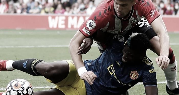 Southampton y Manchester United no se sacaron ventajas