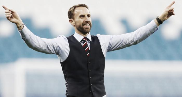 Gareth Southgate al término de un partido con Inglaterra | Fotografía: Inglaterra