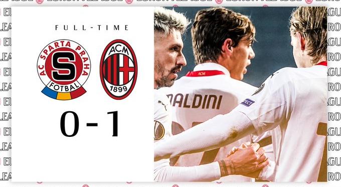 Europa League - Vittoria in trasferta per il Milan