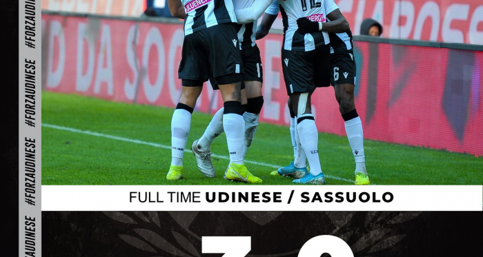 source photo: twitter Udinese
