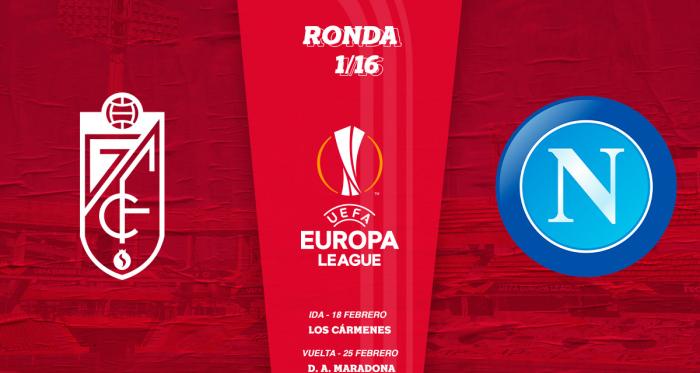 Granada CF - SSC Napoli en dieciseisavos de final de la UEFA Europa League