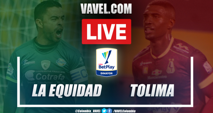 Equidad vs Tolima (1-2) en semifinal vuelta por Liga BetPlay 2021-I