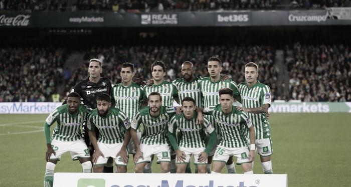 Once inicial del Betis contra el Sevilla / Foto: Manuel Jesús Pérez (OndaBética)
