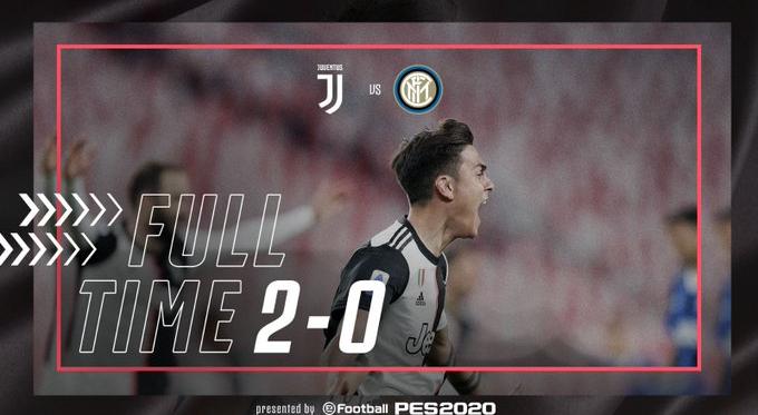Serie A - La Juventus batte l'Inter e si riprende la vetta della classifica (2-0)