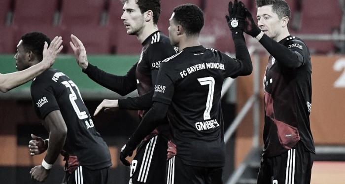 Un gris Bayern Múnich derrotó al Augsburgo