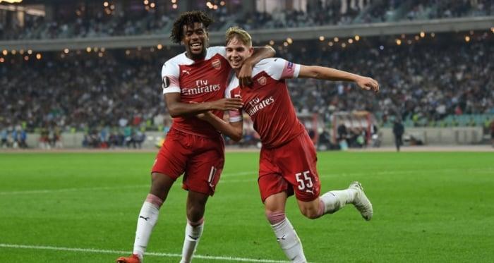 Emile Smith Rowe was impressive on Thursday night | Photo: Arsenal.