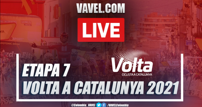 Resumen etapa 7 Volta a Catalunya: ¡Adam Yates se coronó en Barcelona!
