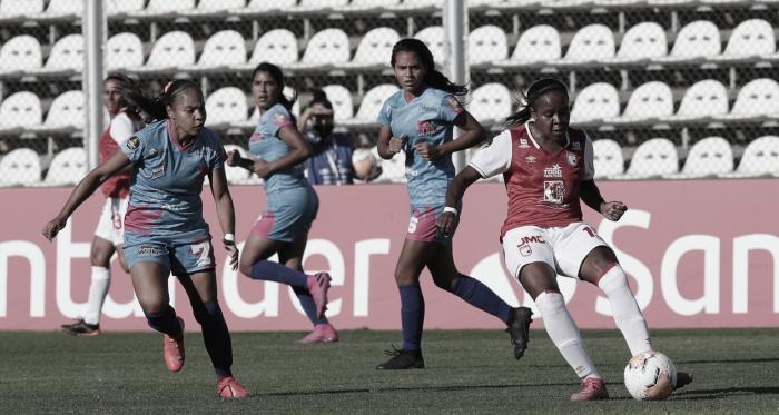 Santa Fe rugió en su debut por Copa Libertadores Femenina
