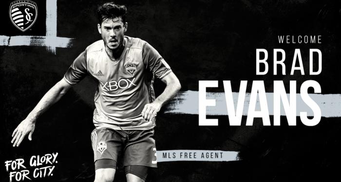 Brad Evans es el nuevo fichaje de Sporting Kansas City | Imagen: Sporting KS