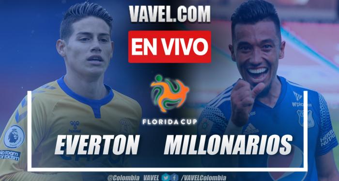 Everton vs Millonarios EN VIVO hoy (0-1)